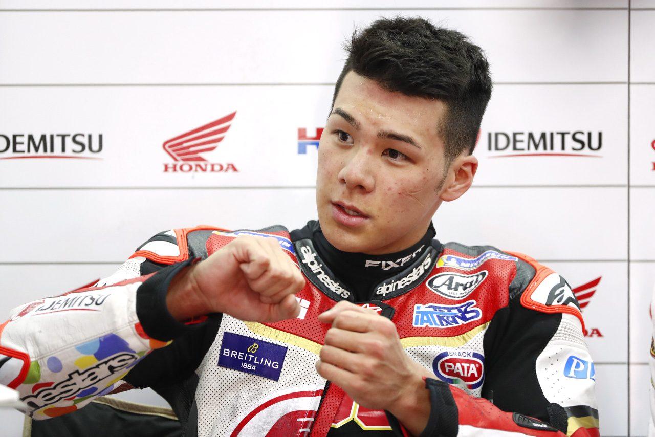 中上、MotoGPライダーとして初の母国GP。もてぎを「Moto2の印象とは違う」と語るもQ2進出に標準定める