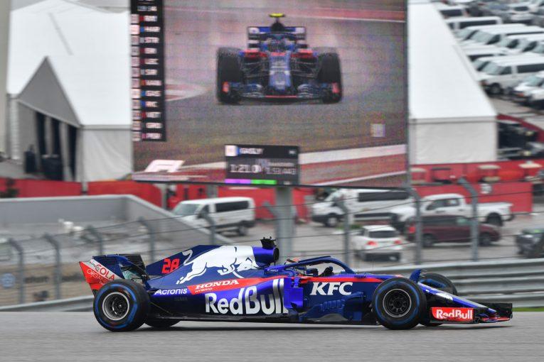 F1 | 【タイム結果】F1第18戦アメリカGP フリー走行2回目