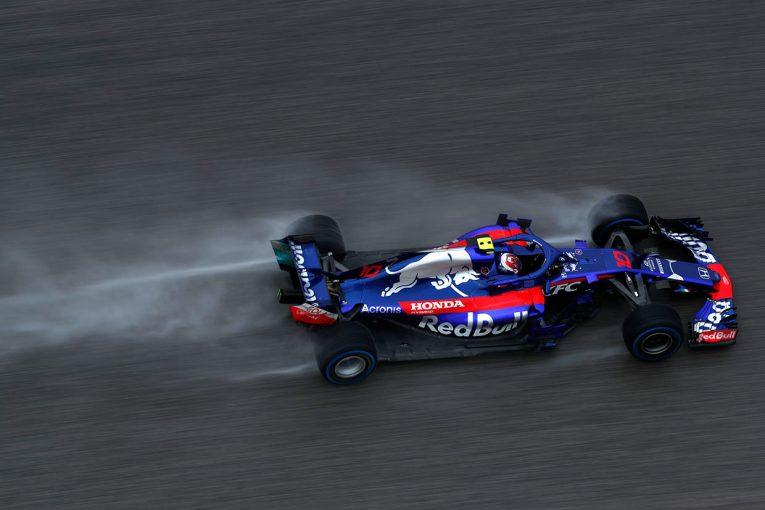 2018年F1第18戦アメリカGP ピエール・ガスリー
