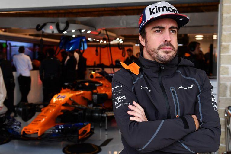 F1 | アロンソ「雨天用タイヤをセーブするためあまり走れず。見に来てくれたファンに申し訳なかった」:F1アメリカGP金曜