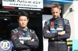 RAYBRIG NSX-GTの山本尚貴とジェンソン・バトン