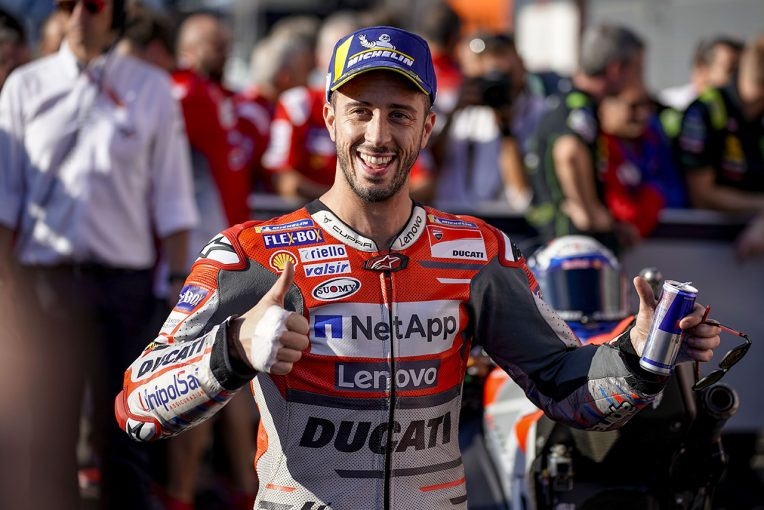 MotoGP | MotoGP日本GP予選:ドゥカティのドヴィツィオーゾがポールポジション。中上が母国でQ2進出決める
