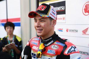 MotoGP日本GPで12番グリッドを獲得した中上