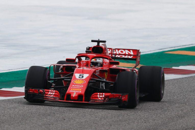 F1   【タイム結果】F1アメリカGP FP3/ベッテルがトップ。トロロッソ・ホンダのガスリーは12番手