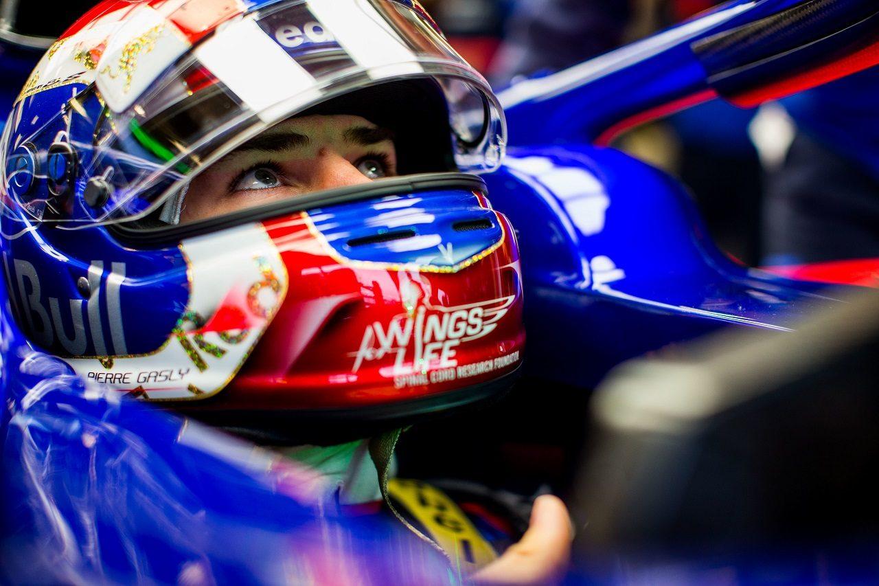 2018年F1第18戦アメリカGP ピエール・ガスリー(トロロッソ・ホンダ)