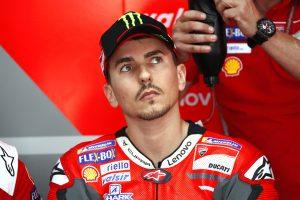 MotoGP日本GPの次戦となるオーストラリアGPも欠場することとなったホルヘ・ロレンソ(ドゥカティ・チーム)