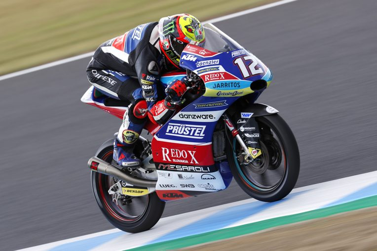 MotoGP | MotoGP日本GP Moto3決勝:ベゼッチがチェッカー直前に大逆転で優勝。佐々木が母国でポイント獲得