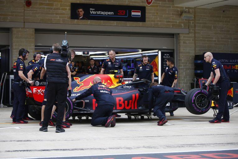 F1 | フェルスタッペン「いつも乗っていた縁石でマシンが壊れるなんておかしい」:F1アメリカGP土曜