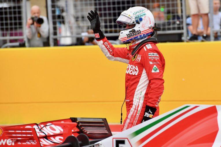 F1 | ベッテル「速さを取り戻せたのはうれしい驚き。どうせならポールを取りたかったね」:F1アメリカGP土曜