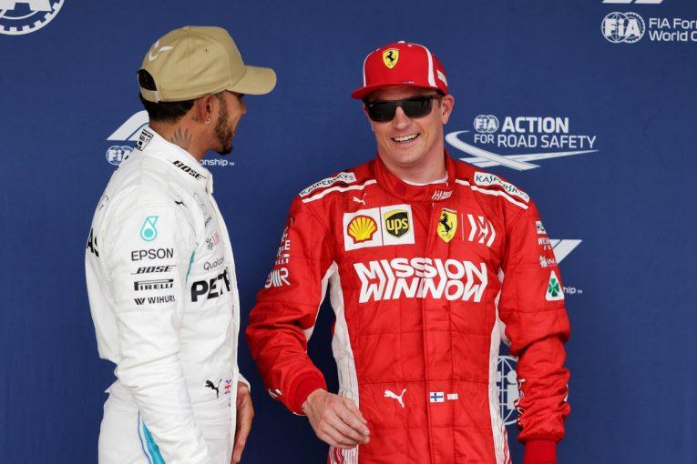 F1 | ライコネン、2番グリッドからスタート「タイヤ選択が正解かどうかは分からないが、チャンスをつかみ、好結果を出したい」:F1アメリカGP土曜