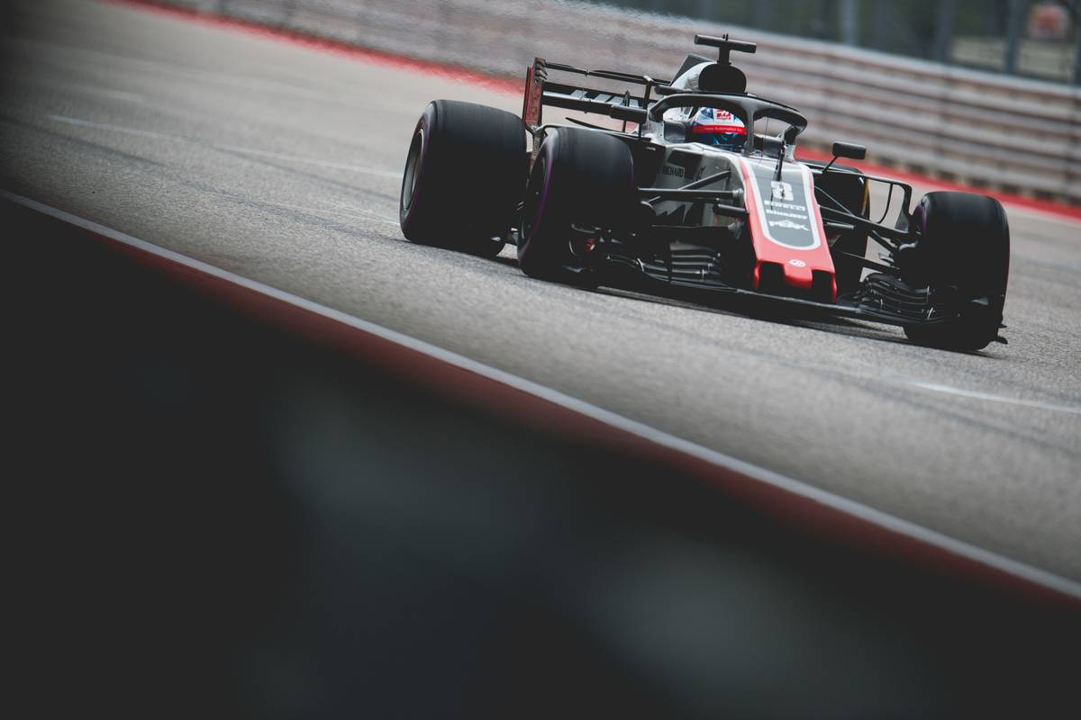 2018年F1第18戦アメリカGP ロマン・グロージャン(ハース)