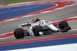 2018年F1第18戦アメリカGP シャルル・ルクレール(ザウバー)
