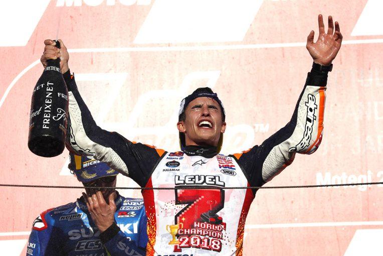 MotoGP | マルケス「今はドヴィツィオーゾが転倒したことが残念」/MotoGP日本GP決勝会見