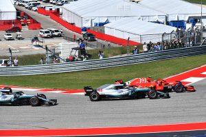 2018年F1第18戦アメリカGP キミ・ライコネンがスタートでトップに
