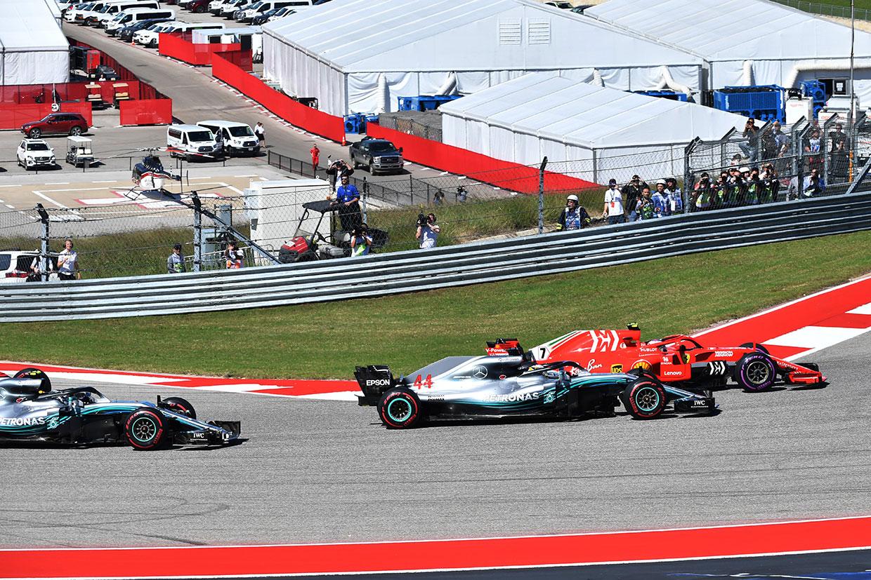 2018年F1第18戦アメリカGP