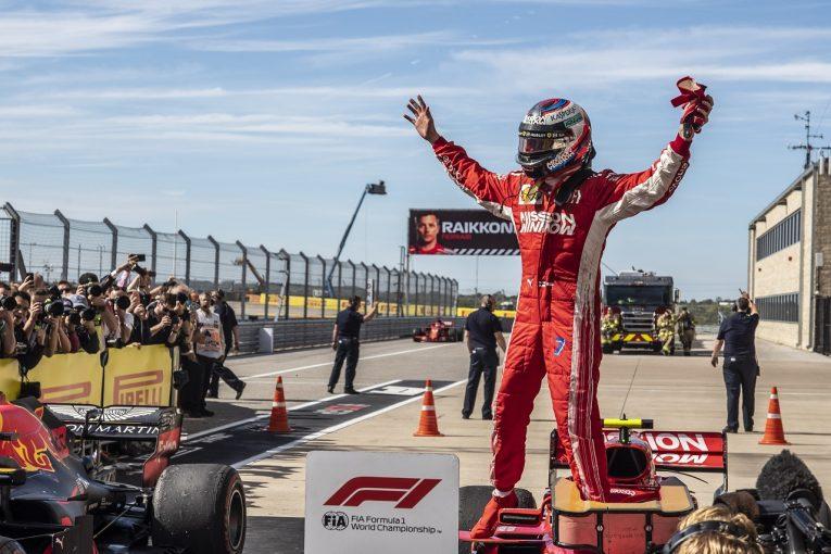 F1 | ライコネン、2013年以来の勝利「大騒ぎするようなことではないが、批判が間違っていたと証明できたのは愉快だね」:F1アメリカGP日曜