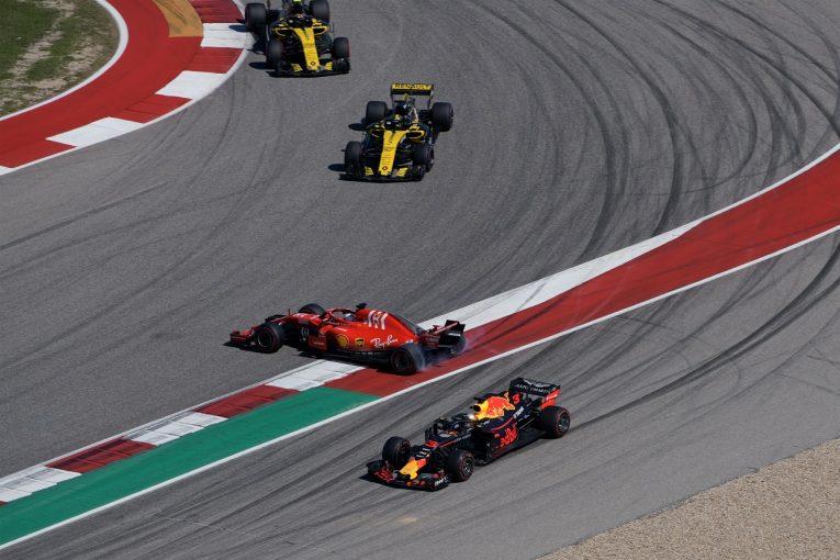 F1 | ベッテル、接触&スピンから追い上げて4位に「もう挽回のレースにはうんざり」:F1アメリカGP日曜