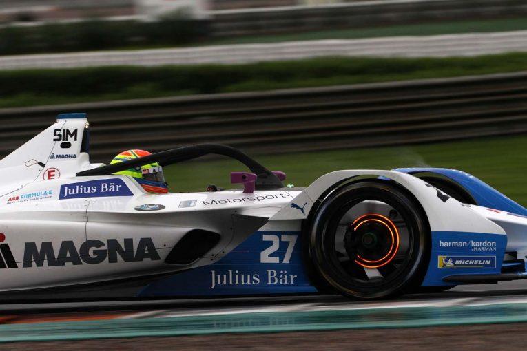 海外レース他 | フォーミュラE公式テスト:好調BMW勢が3日目もトップに。ニッサンはローランドが初走行