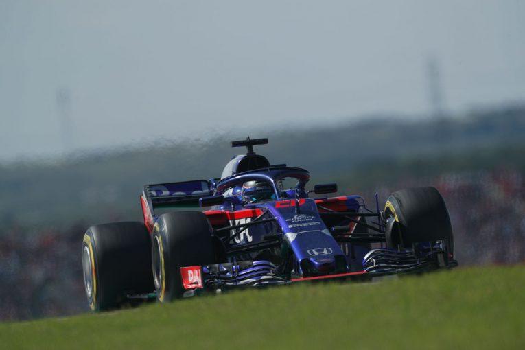 F1 | トロロッソ・ホンダF1密着:最後尾から粘り強い走りで9位を引き寄せたハートレー