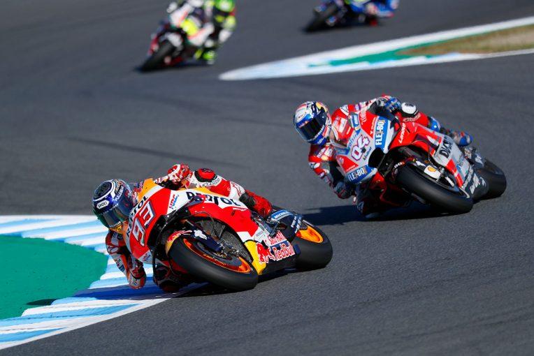 MotoGP   ドヴィツィオーゾ、MotoGP日本GP残り2周での転倒に「小さなミスを犯し、大きな代償を払った」