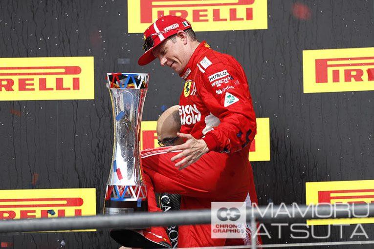 Blog | 【ブログ】Shots!やっぱりポディウムの頂点は最高。笑顔こぼれるアイスマン/F1第18戦アメリカGP 2回目