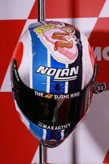 アレックス・リンスの日本GP特別ヘルメット