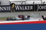 2018年F1第18戦アメリカGP 1週目で追突されたシャルル・ルクレール