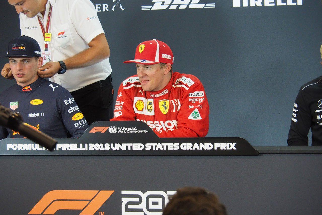 F1アメリカGP現地情報2回目