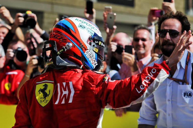 F1   ライコネン、F1アメリカGP優勝もザウバー移籍への情熱は変わらず。「とても興奮しているよ」