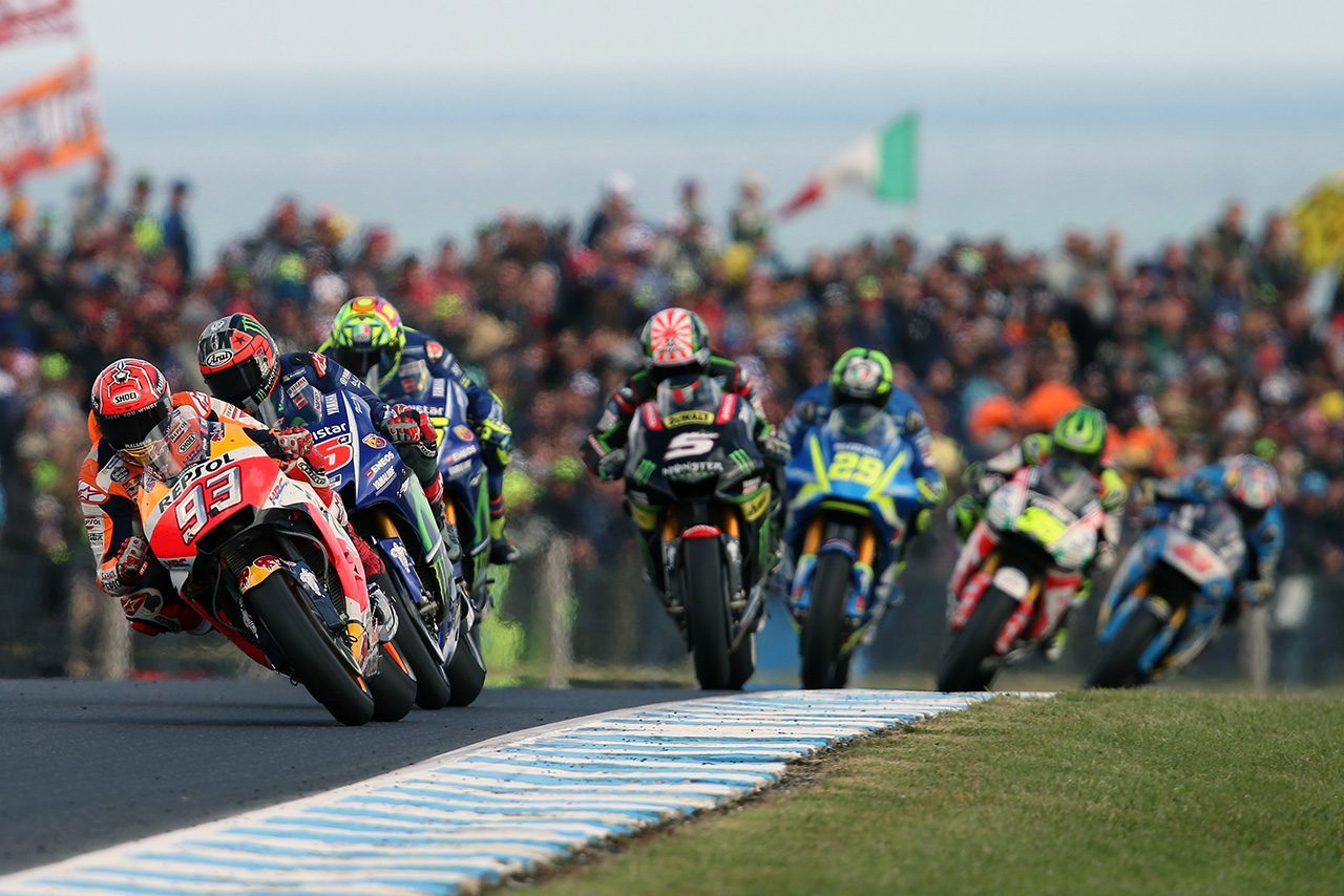 2017MotoGP第16戦オーストラリアGP 決勝