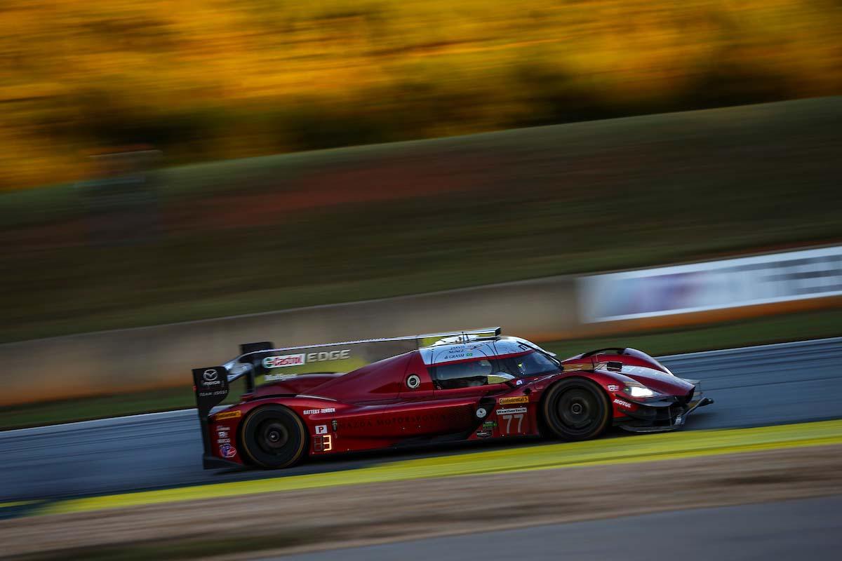 マツダDPiがIMSA最終戦で2台揃って表彰台獲得。「素晴らしい結果だが、まだ満足していない」