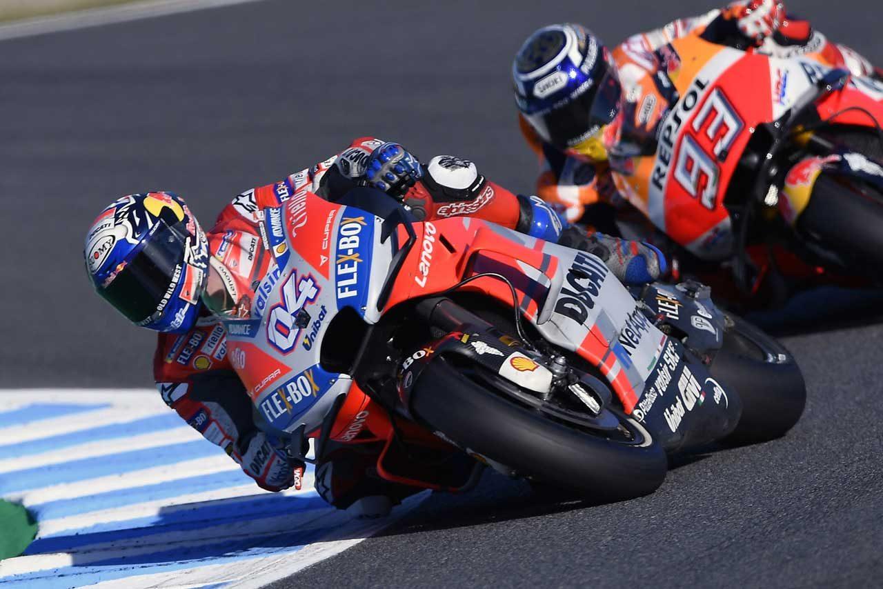 MotoGP:ロッシと9ポイント差のドヴィツィオーゾ「目標はランキング2位をキープすること」