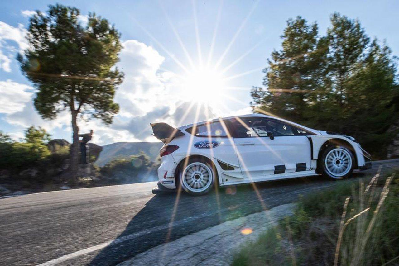 【動画】ケン・ブロック、WRC第12戦スペインでドライブするフィエスタWRCを事前テスト