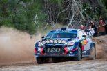ラリー/WRC | WRC:第12戦スペインのシェイクダウンでヌービルのマシンが横転。オジエ最速、トヨタ2番手
