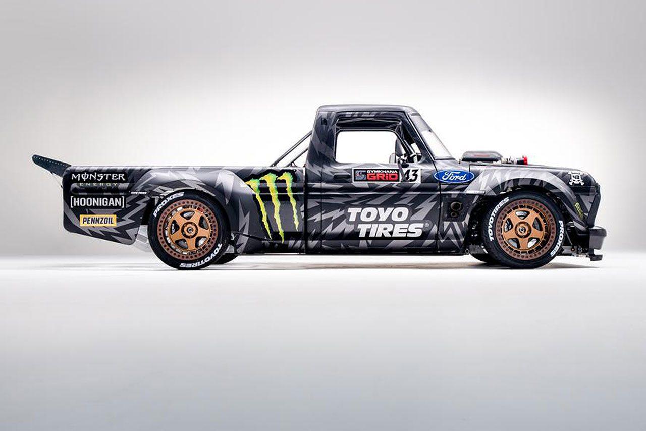 製作期間約2年。ケン・ブロックのジムカーナ動画最新作に登場する新車『フーニトラック』公開