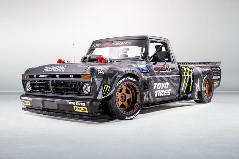 ラリー/WRC | 製作期間約2年。ケン・ブロック、ジムカーナ動画最新作に登場する新車『フーニトラック』公開