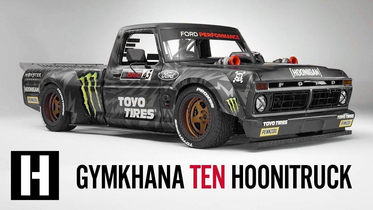 製作期間約2年。ケン・ブロック、ジムカーナ動画最新作に登場する新車『フーニトラック』公開
