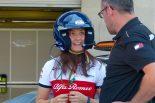 F1 | 【あなたは何しに?】ザウバーF1の女性テストドライバーがセーフティカーに同乗した理由