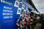 MotoGP | MotoGP:マルケス「恐怖のコンディションだった」/オーストラリアGP予選トップ3コメント