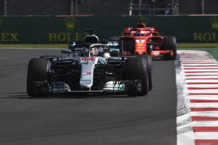 F1 | ハミルトン「現状ではメルセデスとフェラーリはレッドブルに太刀打ちできない。なんとか戦える位置に戻りたい」:F1メキシコGP金曜