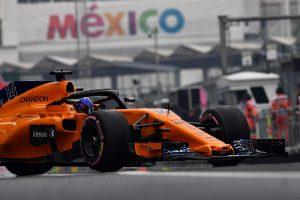 2018年F1第19戦メキシコGP フェルナンド・アロンソ