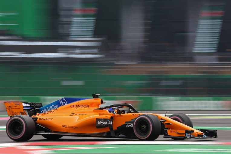 F1   【動画】ターン11でミスしタイムを抹消されたアロンソ/F1メキシコGP 予選