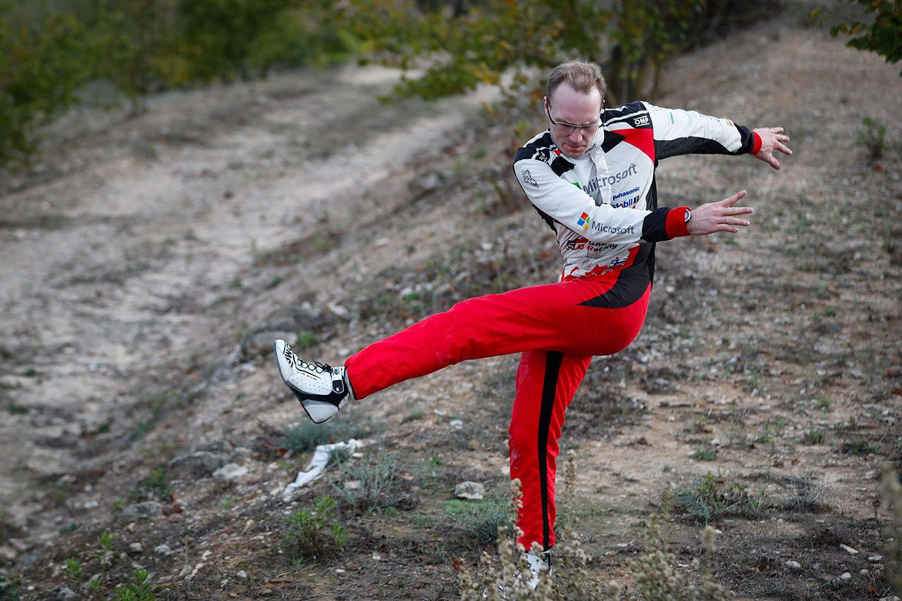 WRCスペイン:トヨタのラトバラが今季初優勝へ邁進。マキネン代表も「リードを守ってくれると信じている」と期待