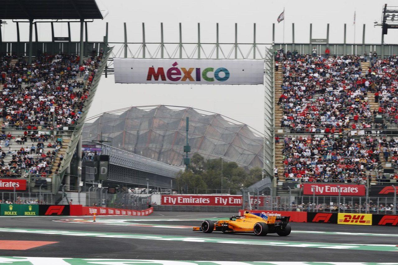 2018年F1第19戦メキシコGP ストフェル・バンドーン(マクラーレン)