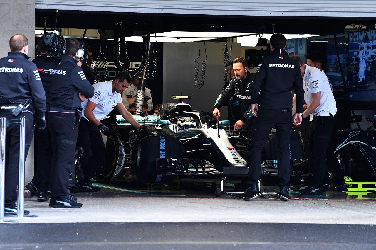 2018年F1第19戦メキシコGP バルテリ・ボッタス(メルセデス)