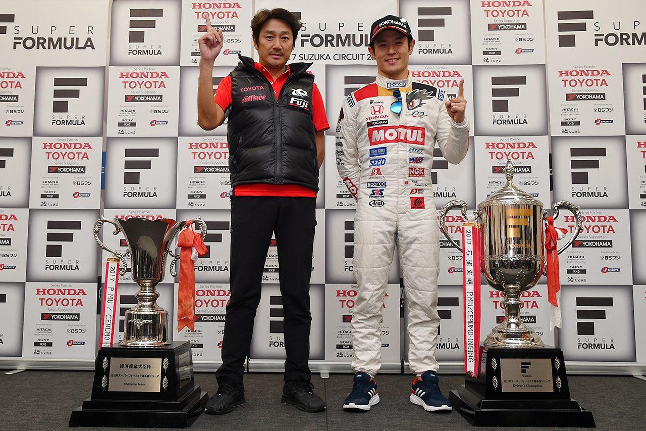 山本尚貴、二度目のSF王座に喜びと感謝「素晴らしいライバルがいてこそのチャンピオン」