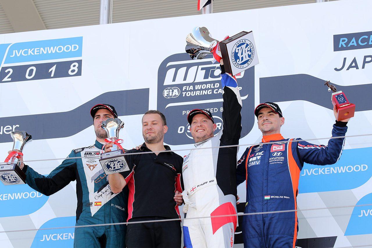 WTCR鈴鹿:レース2はハフ優勝。レース3はタルキーニが制しタイトル争いでリード広げる
