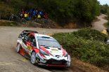 ラリー/WRC | WRCスペイン:ダブルタイトル獲得の可能性を残したトヨタ。マキネン代表「自信を持って最終戦に臨みたい」