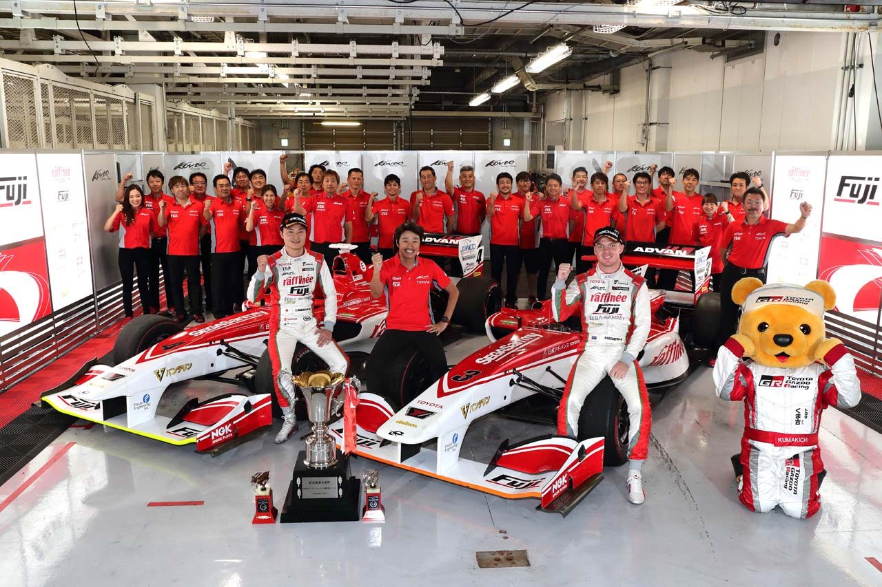 トヨタ 2018スーパーフォーミュラ第7戦鈴鹿 レースレポート