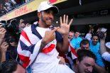 F1 | ハミルトン、歴代2位タイの5回目の王座「キャリアのなかで最高のシーズン。すべての面でレベルアップを果たせた」:F1メキシコGP日曜